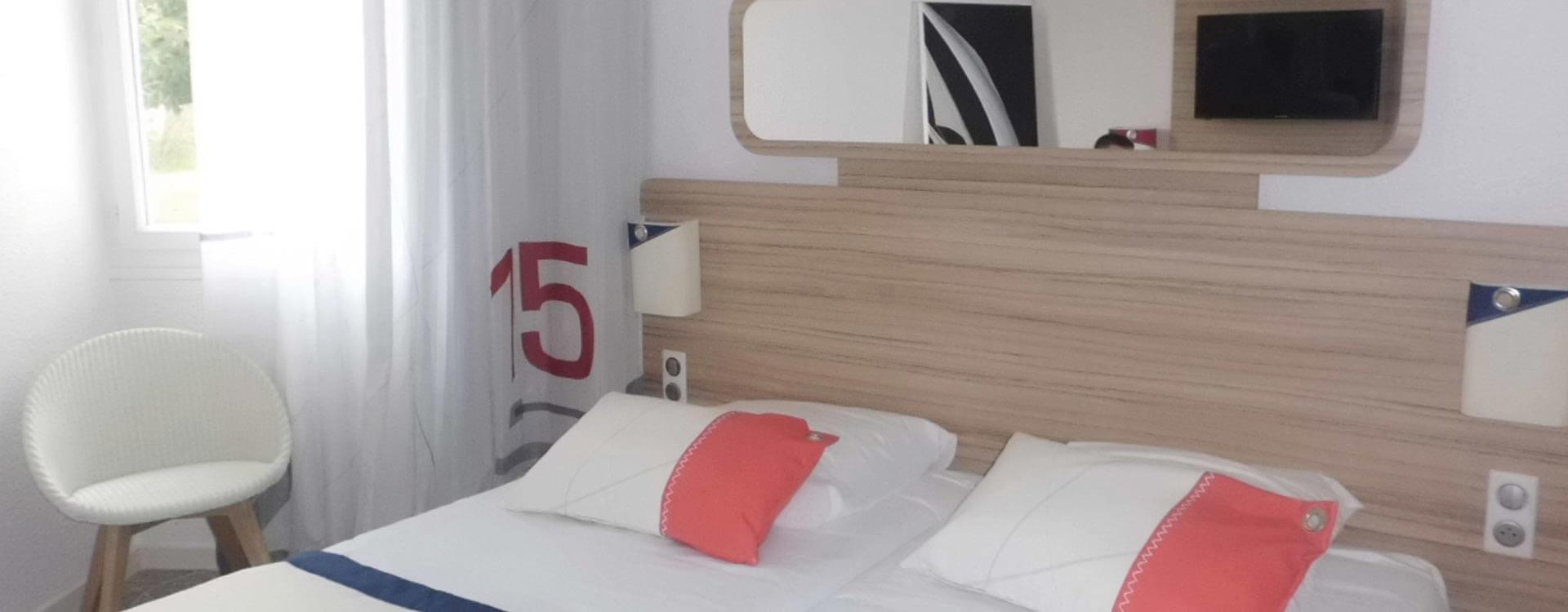 chambre hotel 3 etoiles hyeres