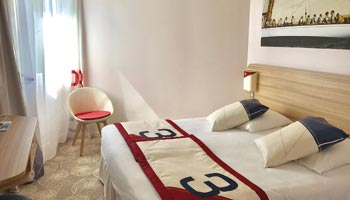 chambre confort hotel 3 etoiles a hyeres