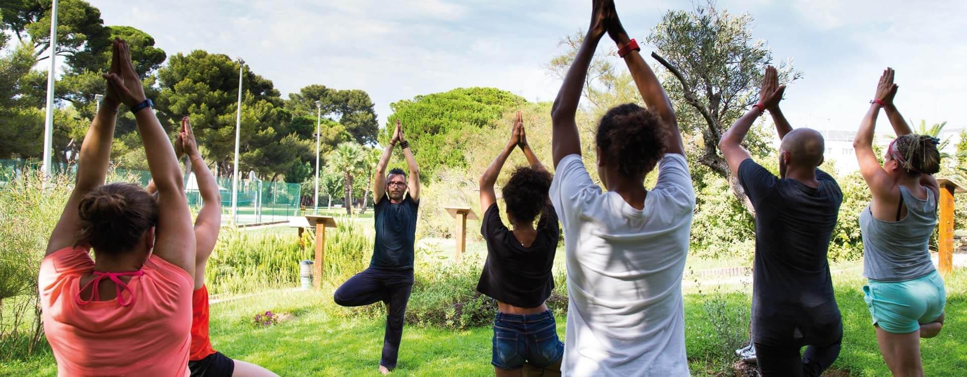 cours yoga plein sud