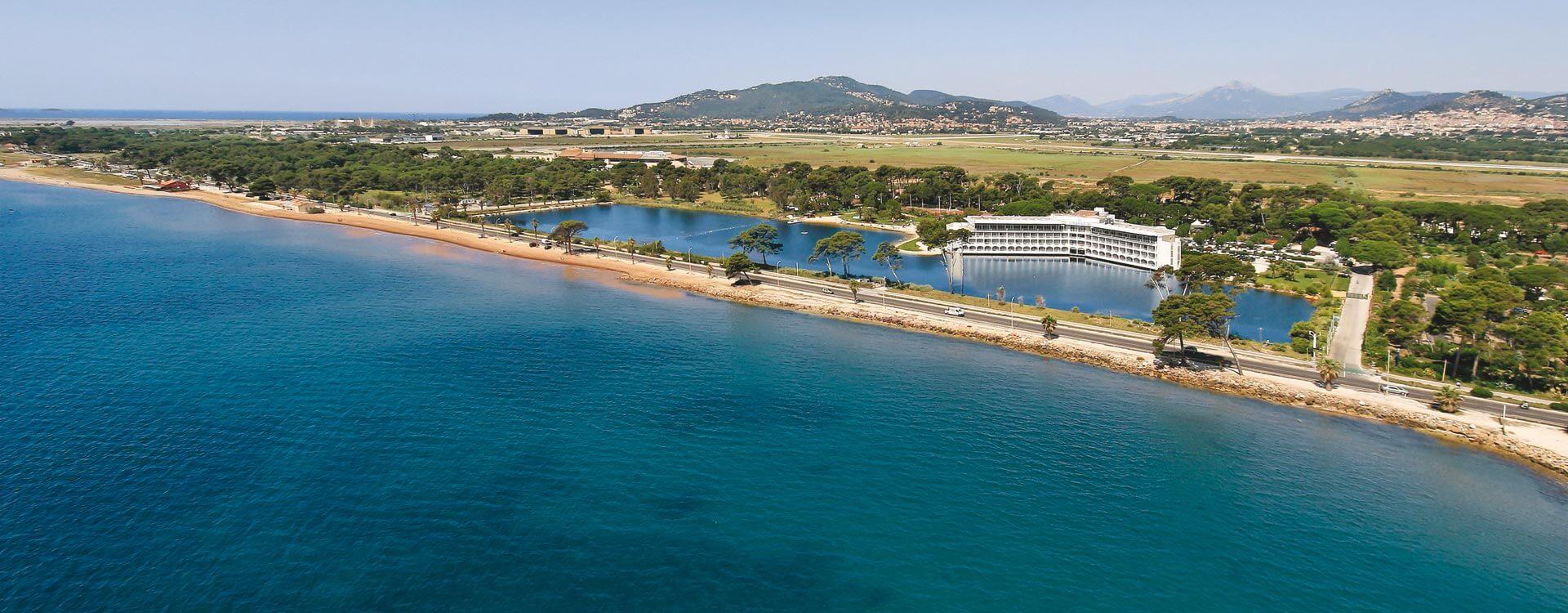 vue panoramique hotel plein sud hyeres