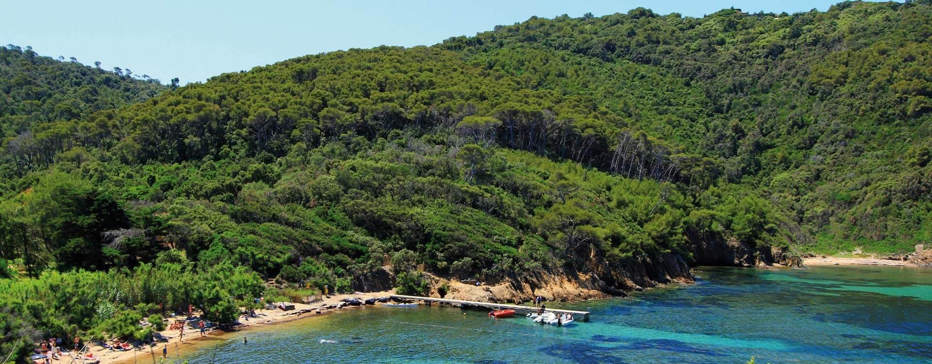 plage paradisiaque port cros