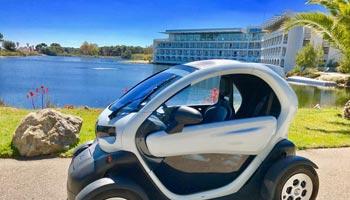 voiture electrique hotel plein sud