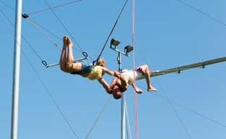 trapeze volant au plein sud hotel hyeres