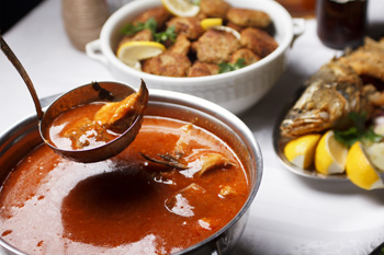 soupe de poisson - restaurant hyeres