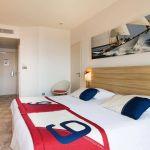 chambre hotel plein sud en bord de mer